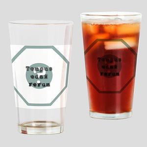 lost_blast_door_latin_tempus_edax_e Drinking Glass