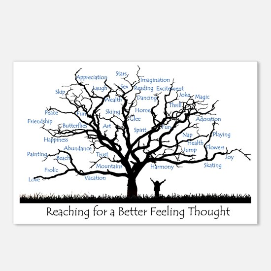 Reaching for a better fee Postcards (Package of 8)