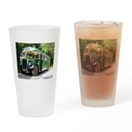 vintage bus Drinking Glass