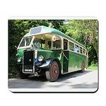 vintage bus Mousepad