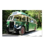 vintage bus Postcards (Package of 8)