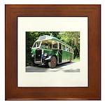 Vintage Bus Framed Tile