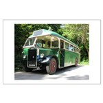 vintage bus Poster Art