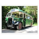 vintage bus Poster Design