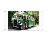 vintage bus Banner