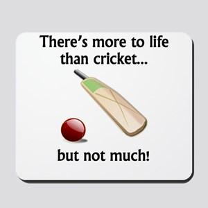 More To Life Than Cricket Mousepad