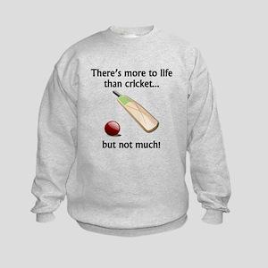 More To Life Than Cricket Sweatshirt