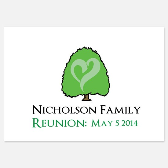 Personalized Family Reunion Invitations