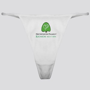 Personalized Family Reunion Classic Thong