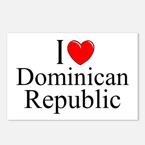 """""""I Love Dominican Republic"""" Postcards (Package of"""