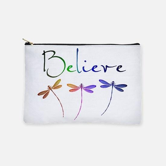 Believe...dragonflies Makeup Pouch