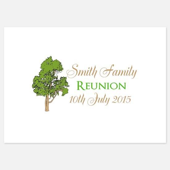 Customized Family Reunion Invitations