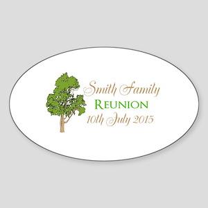 Customized Family Reunion Sticker