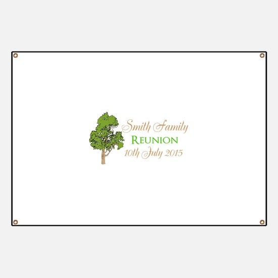 Customized Family Reunion Banner