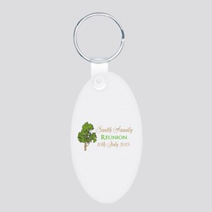 Customized Family Reunion Keychains