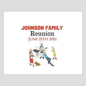 Custom Family Renion BBQ Poster Design