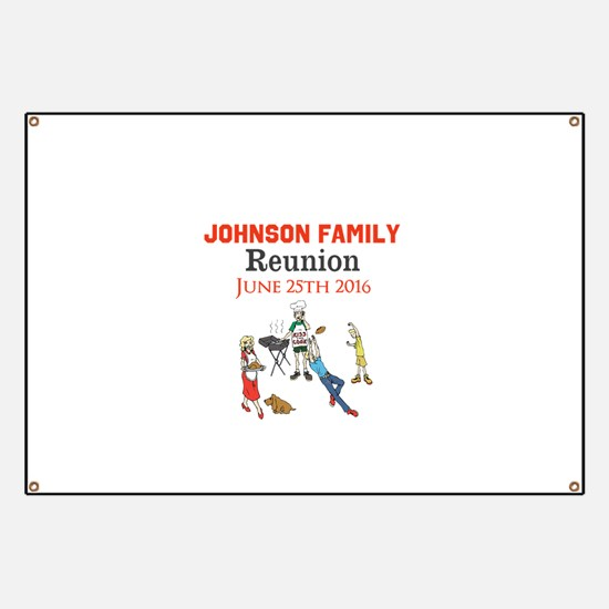 Custom Family Renion BBQ Banner
