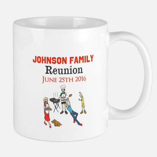 Custom Family Renion BBQ Mugs