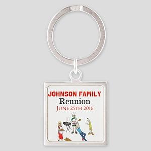 Custom Family Renion BBQ Keychains