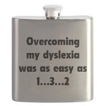 Overcoming My Dyslexia Flask