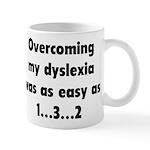 Overcoming My Dyslexia Mugs