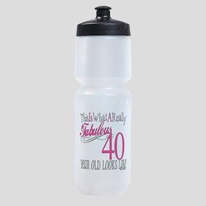 Fabulous 40yearold copy Sports Bottle