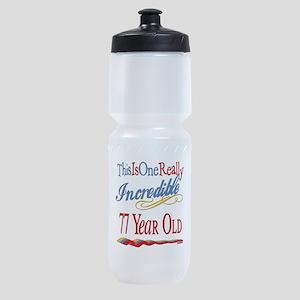Incredibleat77 Sports Bottle