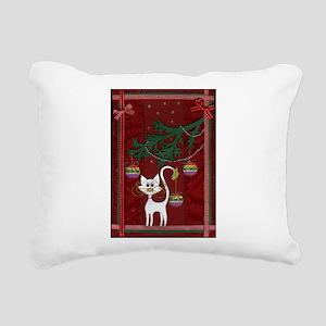 Handmade Kitty Jingle Christmas Card Rectangular C
