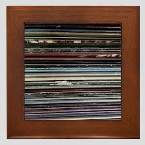 For the Record Framed Tile