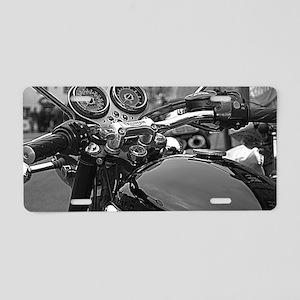 Triumph Bonneville Aluminum License Plate