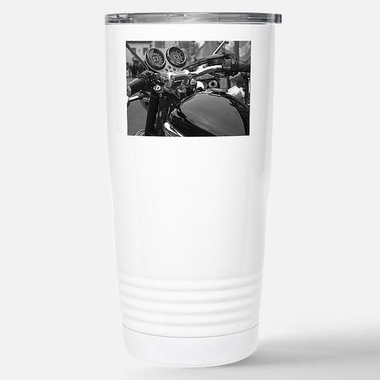 Triumph Bonneville Stainless Steel Travel Mug