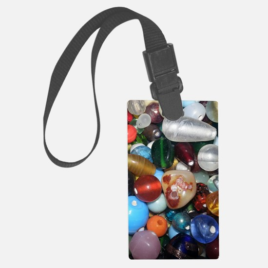 Full of Beads Luggage Tag