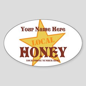 Local Honey Sticker