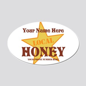 Local Honey Wall Decal