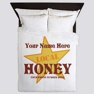 Local Honey Queen Duvet