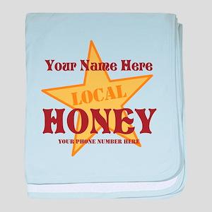 Local Honey baby blanket