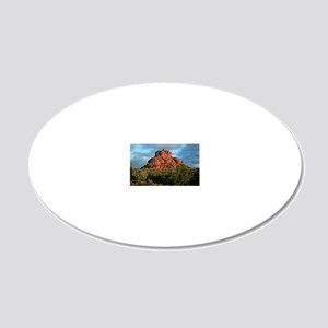 bell rock2 20x12 Oval Wall Decal