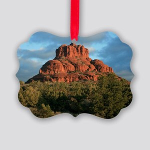 bell rock2 Picture Ornament