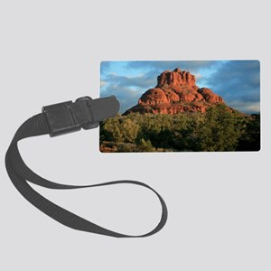 bell rock2 Large Luggage Tag