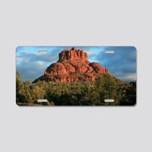 bell rock2 Aluminum License Plate