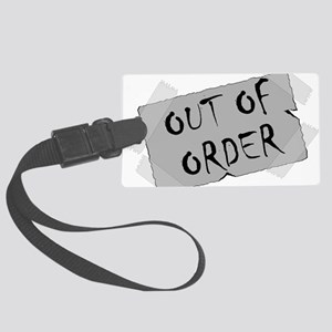 Out of Order Large Luggage Tag