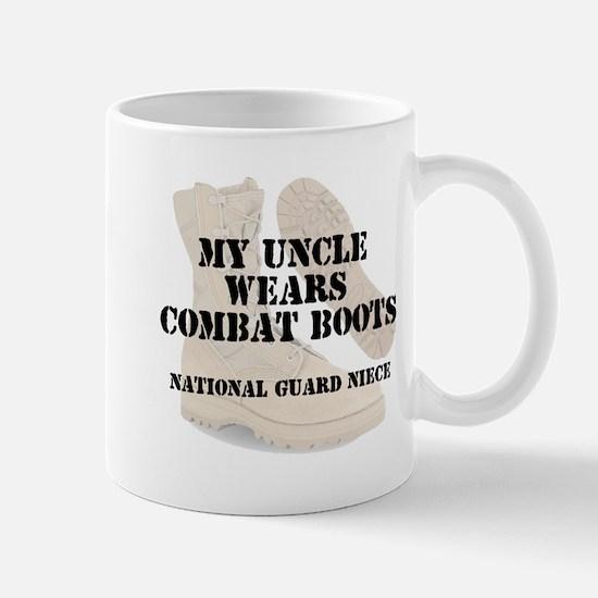 National Guard Niece Uncle wears DCB Mugs