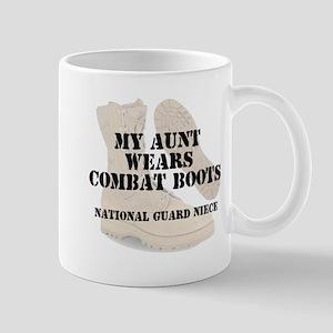 National Guard Niece Aunt wears DCB Mugs