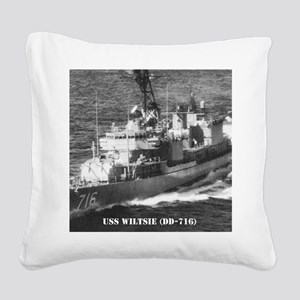 wiltsie framed panel print Square Canvas Pillow