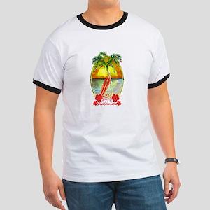 Mele Kalikimaka Surfboard T-Shirt