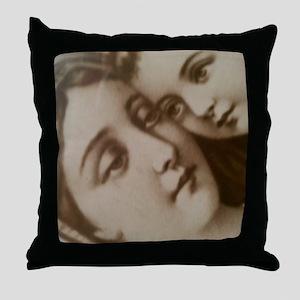 Modest Mary Throw Pillow