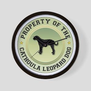 Catahoula Property Wall Clock