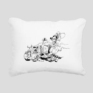 kenny the rat Rectangular Canvas Pillow