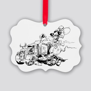 kenny the rat Picture Ornament