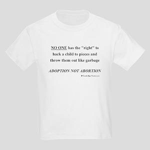 """Choice"" Isn't Kids T-Shirt"